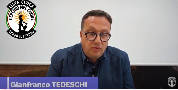 Elezioni Amministrative 2021, il Sindaco di Cerchio Tedeschi presenta la sua squadra