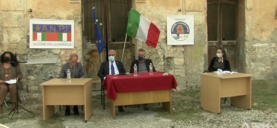 Anniversario dell'eccidio di Capistrello, cerimonia di commemorazione del 4 giugno