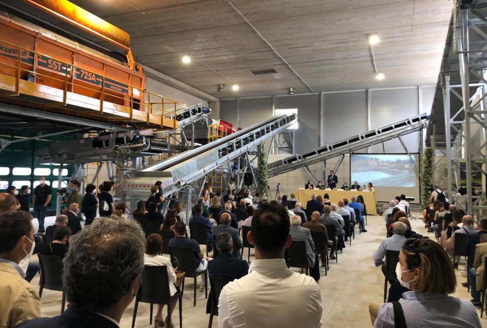 Impianto di compostaggio di ACIAM Spa, fine lavori per il primo lotto di ampliamento