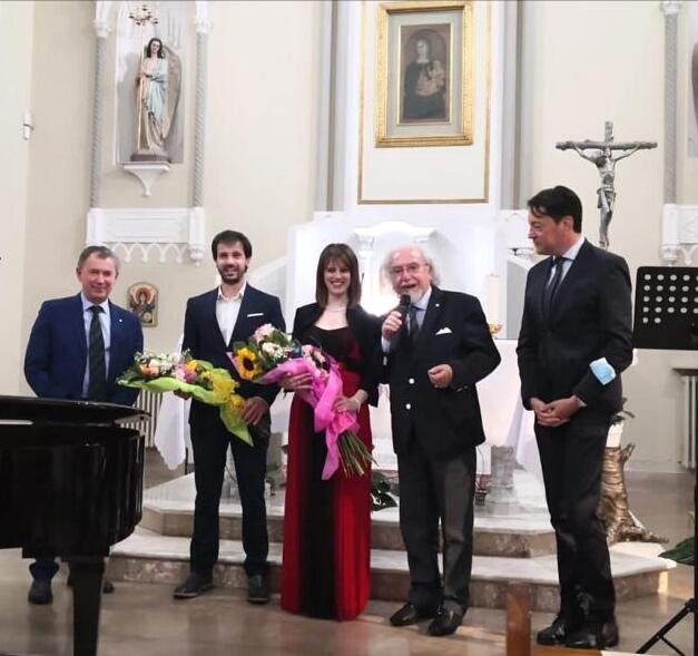 """Grande successo della giornata avezzanese dell'Accademia italiana della Cucina e del """"Concerto dell'Alba Nuova"""""""
