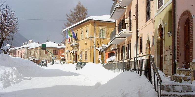 Ristori ai cittadini di Cappadocia per le spese sostenute durante l'emergenza neve del gennaio 2021