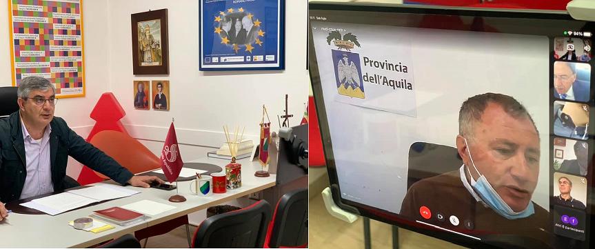 Viabilità Simbruina, il senatore del PD Luciano D'Alfonso convoca riunione online con gli enti locali