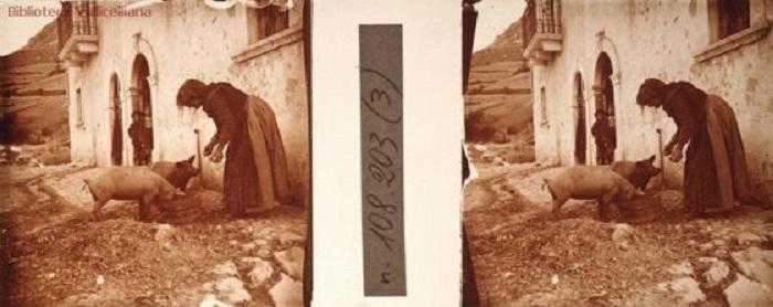 Dalla Biblioteca Vallicelliana fotografie stereoscopiche della Marsica con le immagini del territorio prima del terremoto del 1915