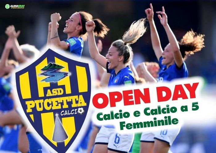 L'ASD Pucetta organizza un open day tutto al femminile dedicato alle ragazze che vogliono avvicinarsi al mondo del calcio