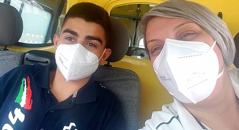 La Croce Verde di Civitella Roveto dà il benvenuto al giovane volontario Giacomo
