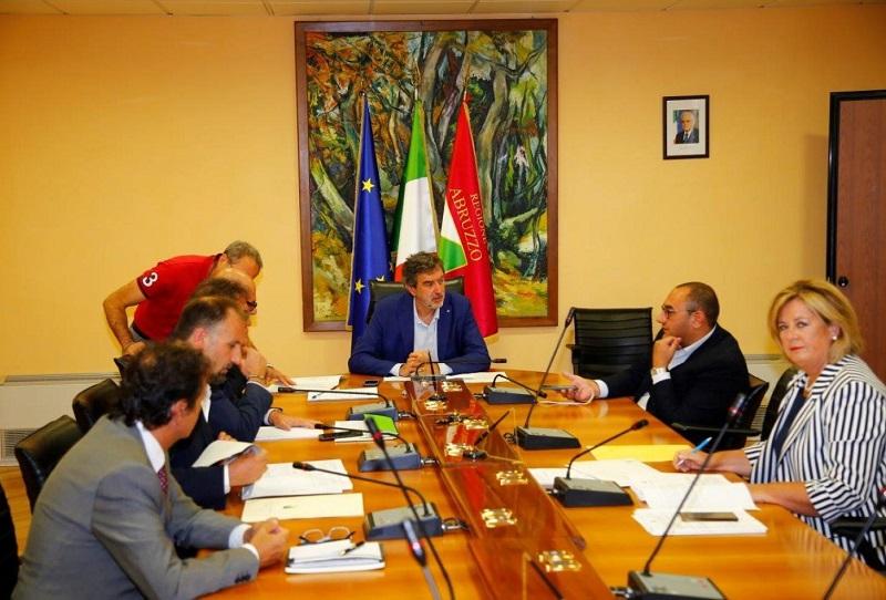 Giunta Regione Abruzzo, via libera allo schema dell'Accordo di Programma Quadro Regione Abruzzo – Area Valle del Giovenco – Valle Roveto