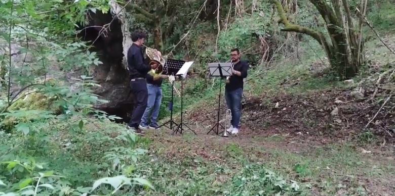 Concerto nella Riserva Grotte di Luppa con l'esibizione dell'orchestra Colibrì Ensemble