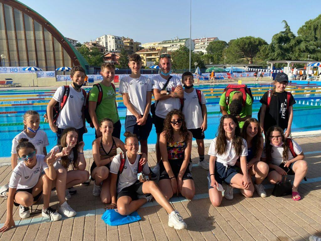 Una trasferta di successo per gli atleti del Team Centro Italia Nuoto