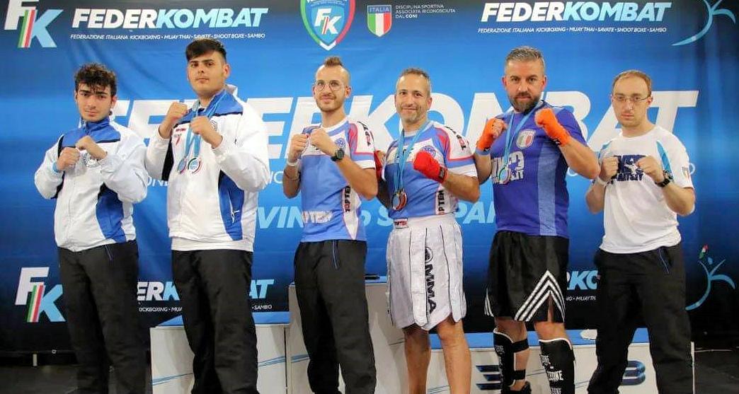 Incetta di medaglie per l'A.S.D. MMA ai Campionati Italiani e Trofeo Italia di Rimini di Kickboxing