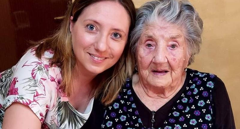 Nonna Maria di Trasacco compie 103 anni
