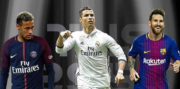 Messi, Ronaldo, Neymar: le caratteristiche dei tre fenomeni a confronto