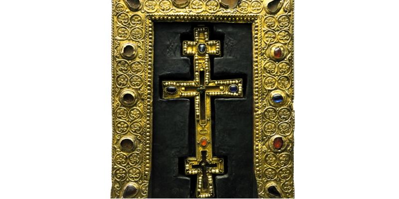 Alla scoperta della Stauroteca di San Nicola di Alba Fucens, evento online dal Castello Piccolomini Celano