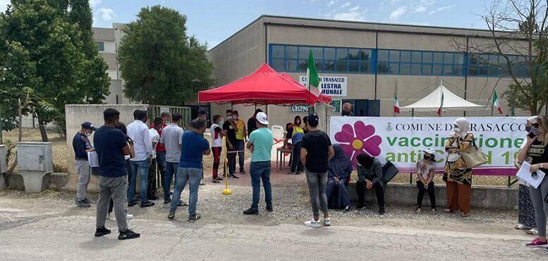 Il comune di Trasacco organizza la seconda giornata di vaccinazioni per i lavoratori agricoli