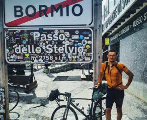 Impresa epica del ciclista rovetano Gianmaria Di Loreto: percorsi 2500 km in 11 giorni