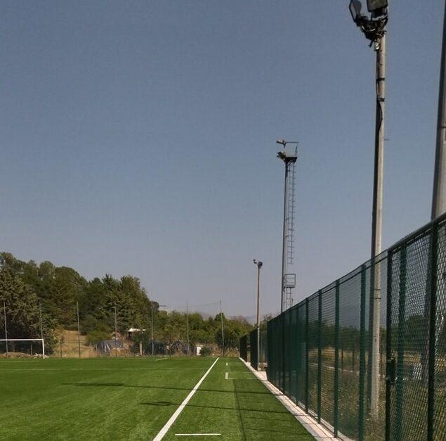 """Recintato il campo sportivo di Aielli, il Sindaco: """"Anche la recinzione è da Serie A"""""""