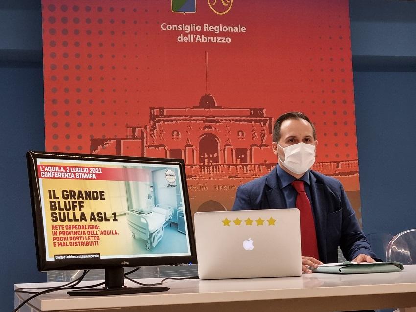 """Rete ospedaliera, il grande bluff a firma Lega, Fratelli d'Italia e Forza Italia. Fedele: """"Alla ASL 1 toccheranno le briciole"""""""