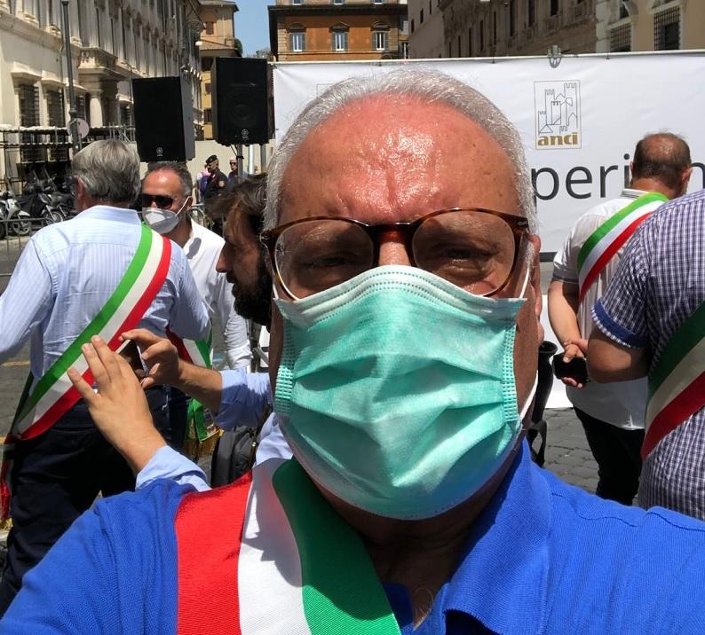 """""""Tutela e dignità al ruolo dei Sindaci"""", Ciciotti tra i Sindaci presenti alla manifestazione dell'Anci a Roma"""