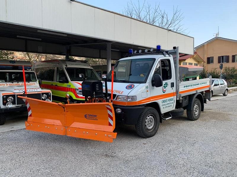 La Croce Verde Valle Roveto potenzia uno dei suoi mezzi grazie al progetto presentato al Dipartimento di Protezione Civile