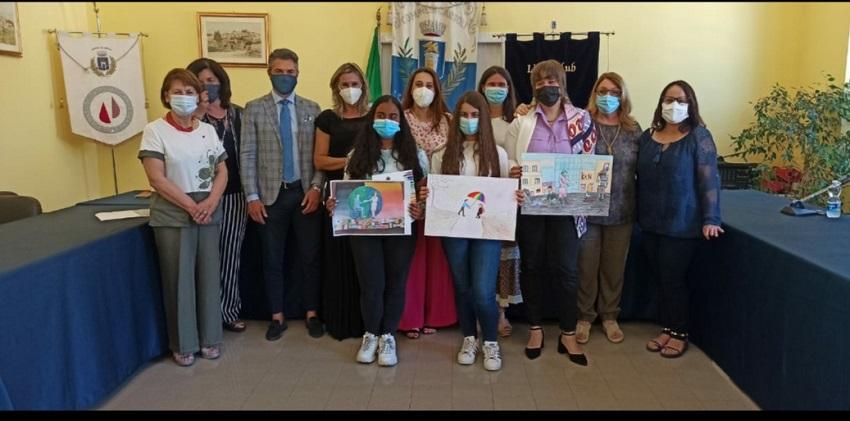 """Lions Club Avezzano premia i giovani vincitori del Concorso Internazionale """"Un Poster per la Pace"""""""