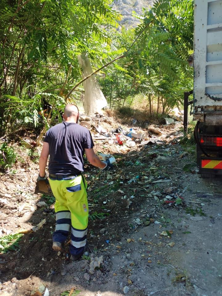 Iniziate le operazioni di bonifica in località Costa Delle Cerese a Venere
