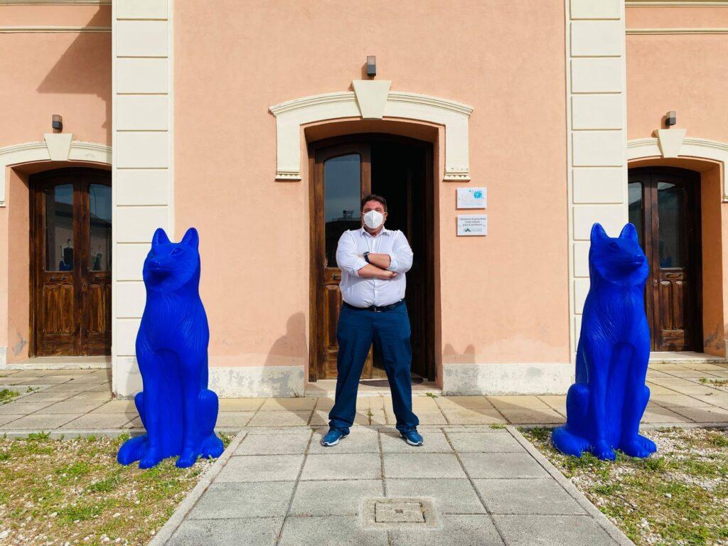 Sculture colorate per tornare alla vita, Cracking Art in mostra dal 9 luglio al 3 ottobre a l'Aia dei Musei di Avezzano