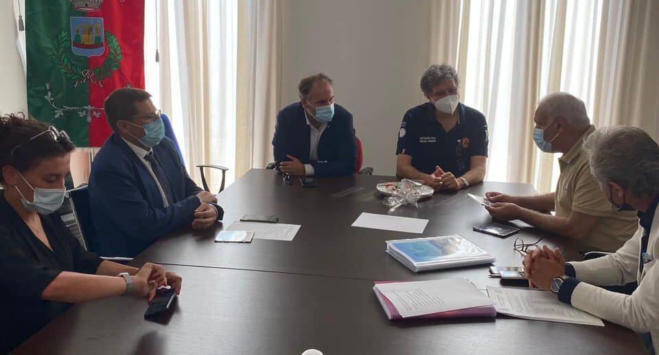 Superstrada del Liri, S.P. Simbruina e risorse idriche: il presidente Marsilio incontra l'Amministrazione Ciciotti