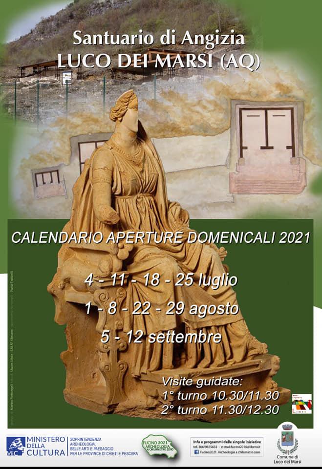 A Luco dei Marsi l'area archeologica di Angizia e il convento dei cappuccini saranno aperti ai cittadini nei fine settimana