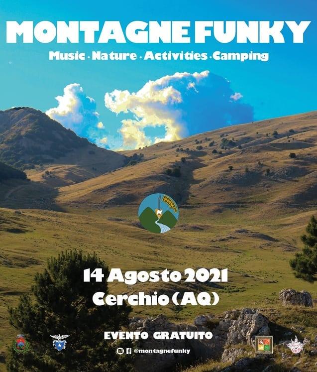 Ad Agosto torna Montagne Funky a Cerchio