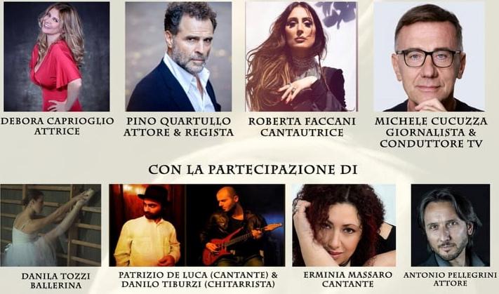 Al via il premio Beatrice Cenci a Cappadocia, attori, cantanti e personaggi presentati da Luca Di Nicola
