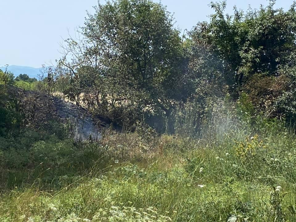 Incendi, intervento del N.O.V.P.C. Tagliacozzo ONLUS ai confini del Parco Nazionale d'Abruzzo