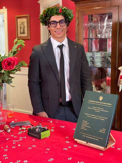 Laurea con 110 e lode per Federico Tiberti