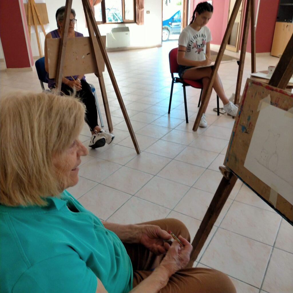 """E' partito """"En Plein Air"""", il corso di pittura organizzato dal Comune di Sante Marie"""