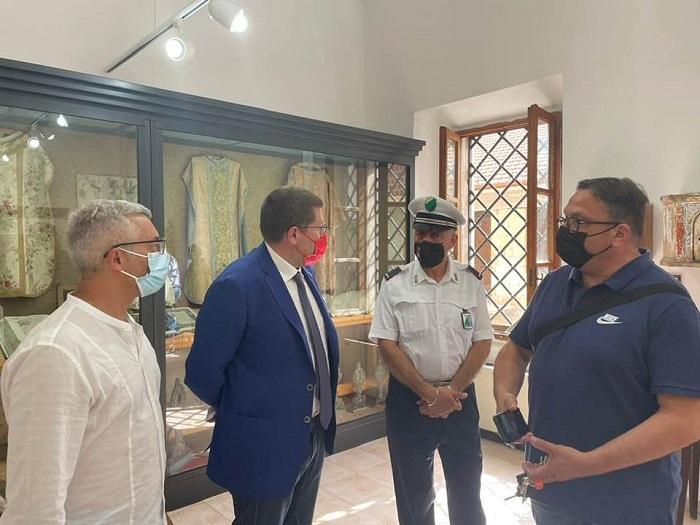 Incontro a Cerchio per il progetto del nuovo Museo Civico in Rete e visita del nuovo plesso scolastico