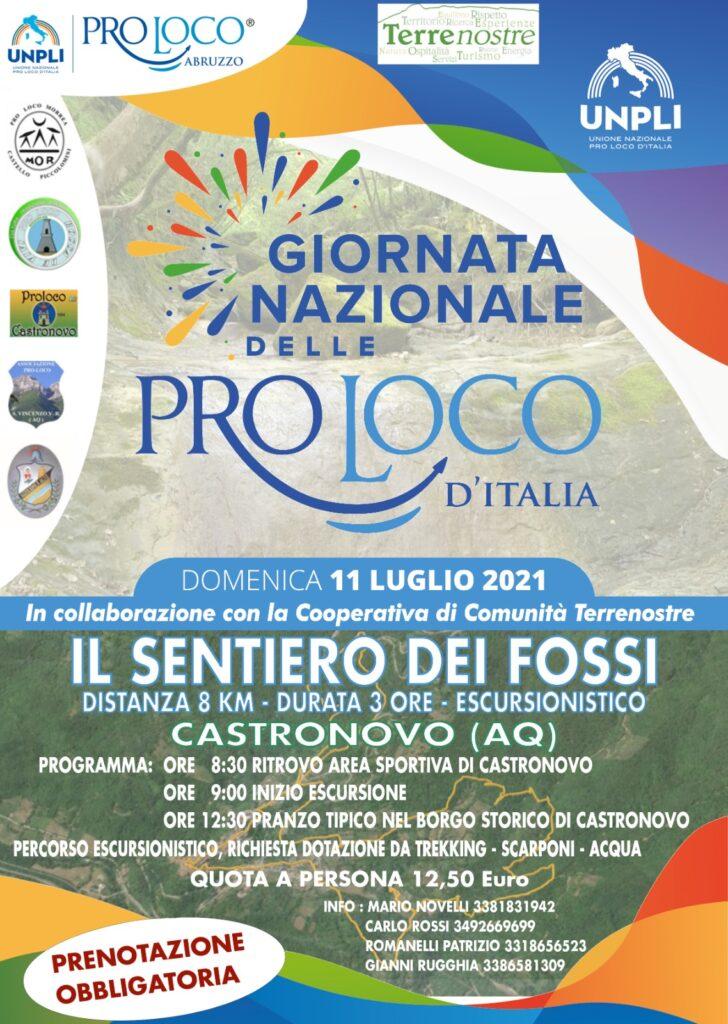 A San Vincenzo Valle Roveto la giornata nazionale delle Pro Loco d'Italia