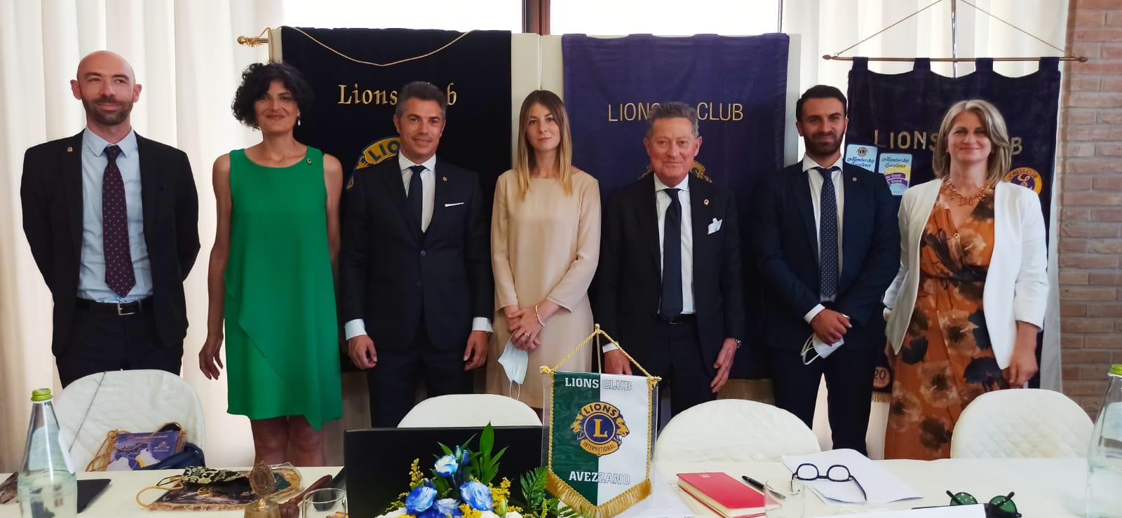 Sentiti e partecipati festeggiamenti del 54° festeggiamenti del Lions Club Avezzano