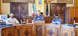 """Campione mondiale di Body building accolto in Comune ad Avezzano, Simonelli: """"L'atleta Di Cesare sta dando lustro alla Città"""""""
