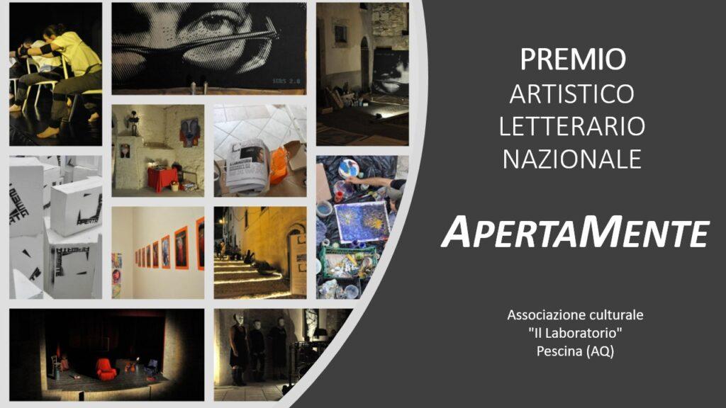 """Al via i lavori della Giuria per scegliere i vincitori della I Edizione del Premio Artistico-Letterario """"Apertamente"""" 2021"""