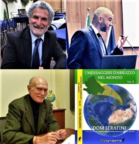 """""""I Messaggeri d'Abruzzo nel Mondo"""", a l'Aquila la presentazione del libro di Dom Serafini"""