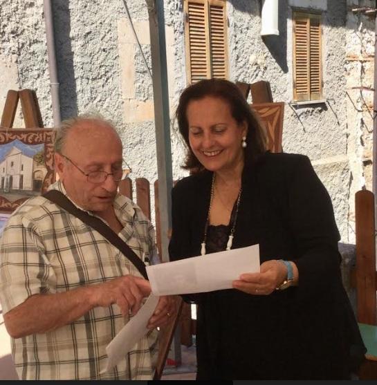 La scrittrice Maria Assunta Oddi presenta l'opera pittorica di Ascenzo Bianchi