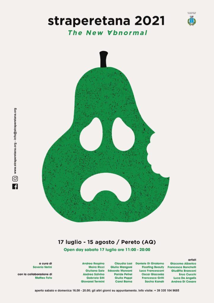 Straperetana al via con 24 artisti, sabato 17 luglio l'open day a Pereto