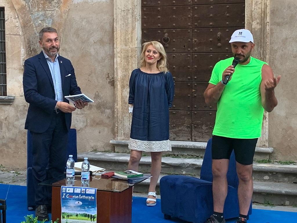 """Il Primo Cammino Letterario fa tappa a Tagliacozzo, """"la Città della comunicazione"""""""