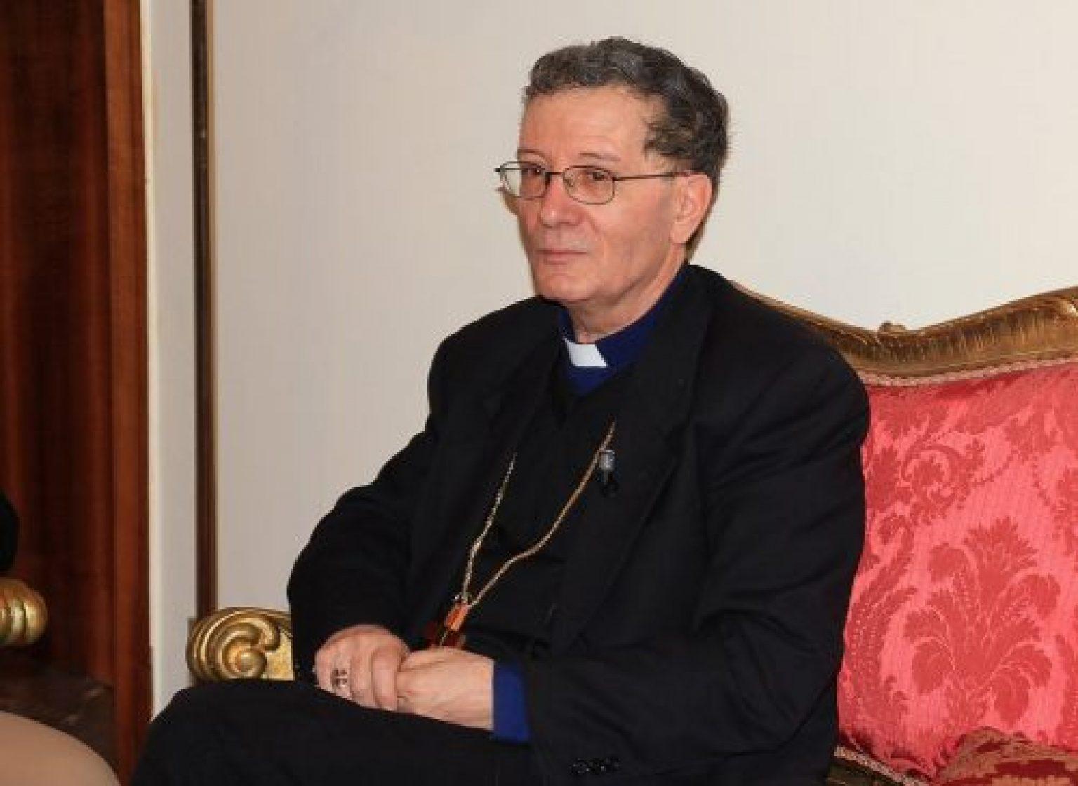 Il saluto e i ringraziamenti delle Associazioni di Categoria della Marsica al Vescovo Pietro Santoro