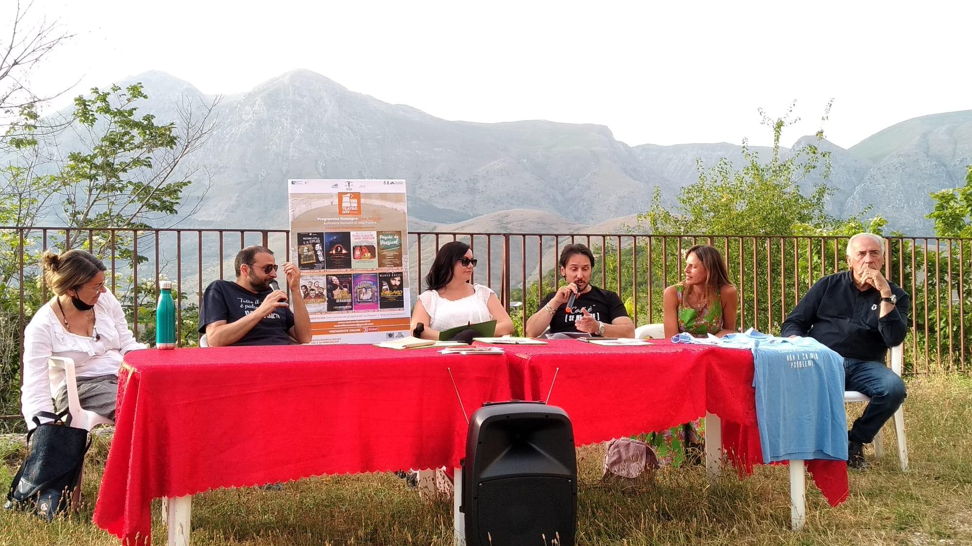 Presentata ad Alba Fucens la terza edizione di ALBA OFF, rassegna teatrale estiva del Teatro Off (Limits) di Avezzano (AQ): il programma