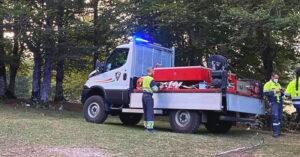 Tre incendi spenti in uno solo pomeriggio dall'Unità Operativa Antincendio NOVPC di Tagliacozzo