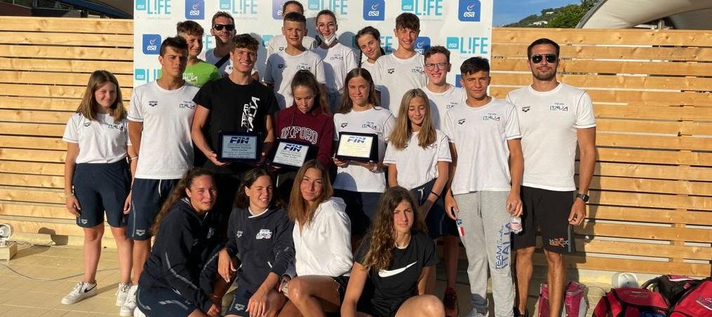 Ottimi risultati del Team Centro Italia Nuoto ai campionati regionali assoluti