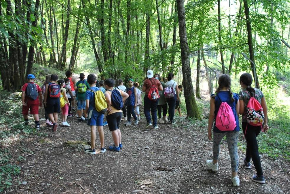 Al via il campo estivo per i bambini di Morino e Civita d'Antino nella Riserva Zompo Lo Schioppo