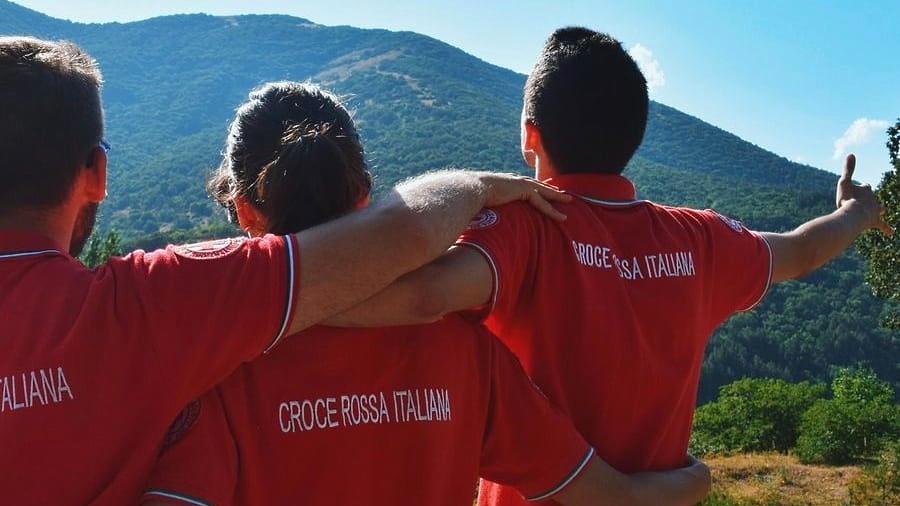 Campo della Croce Rossa presso il Parco Nazionale d'Abruzzo, Lazio e Molise