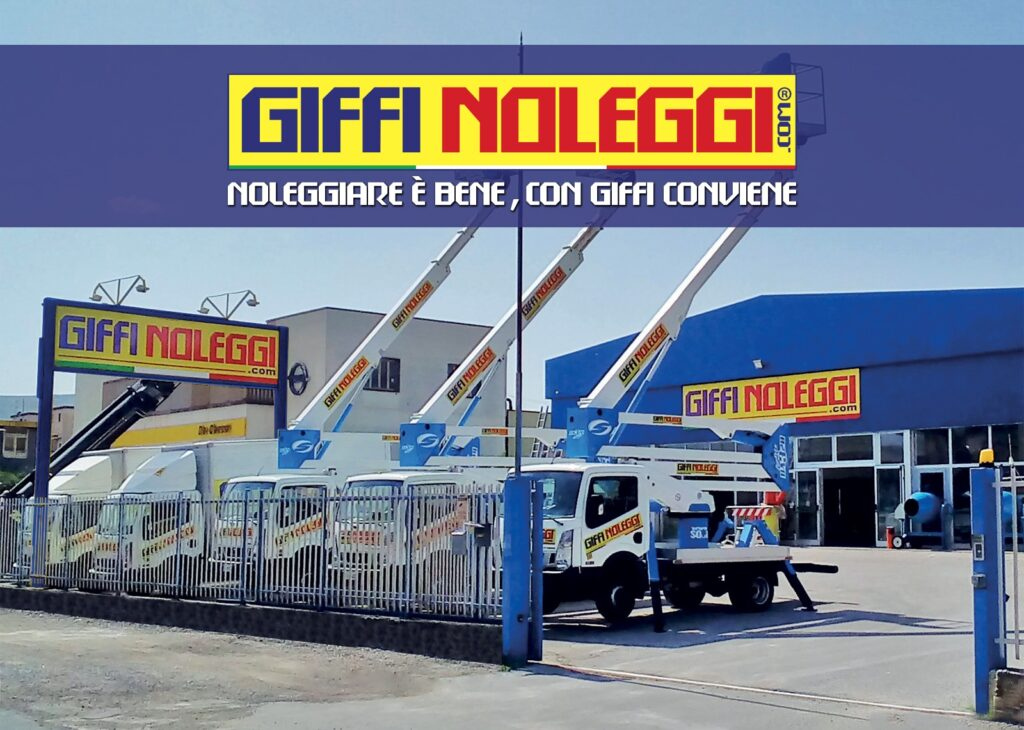 Giffi Noleggi, un'azienda marsicana leader del noleggio generalista in Italia