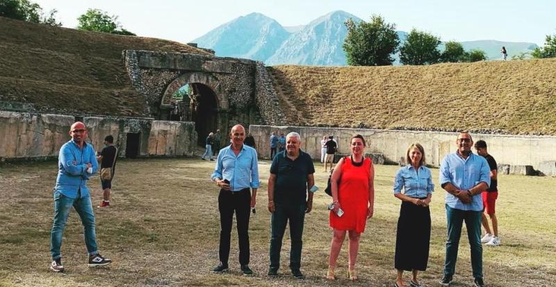 Politiche regionali in materia di beni e attività culturali, presentato ad Alba Fucens progetto di legge di Antonietta La Porta