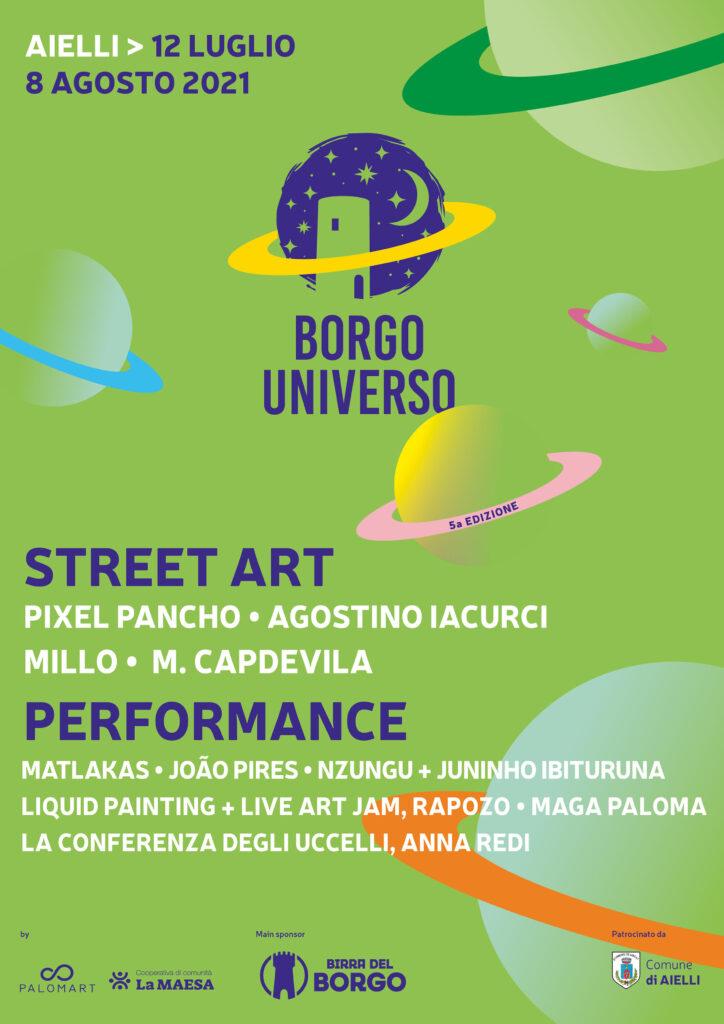 Borgo Universo 2021, stamattina la conferenza stampa di presentazione del Festival